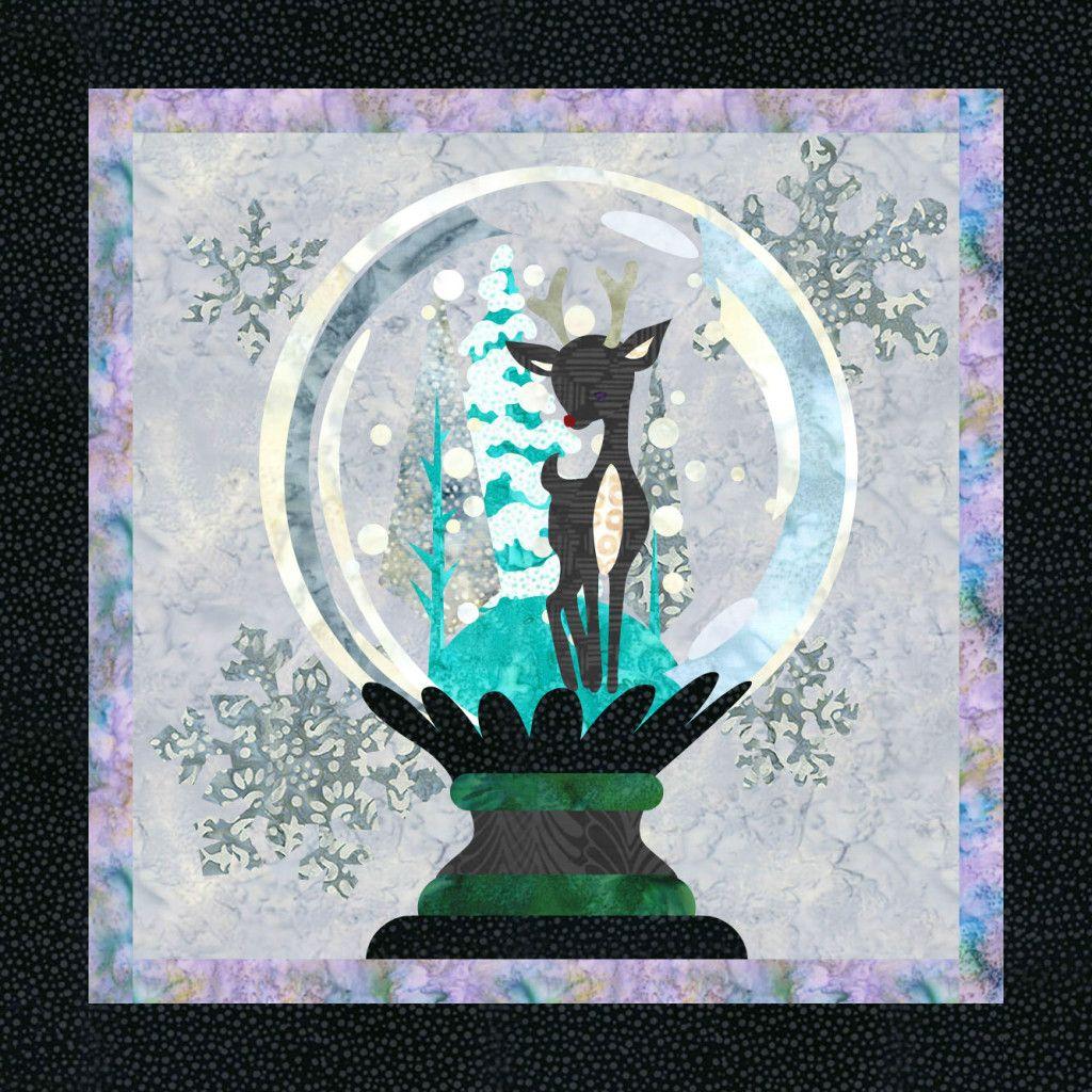 Snow Globe quilt pattern | QuiltFusion Quilts! | Pinterest | Globe ... : globe quilt - Adamdwight.com