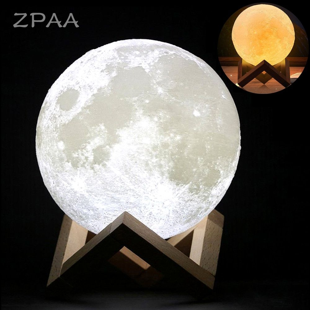 Cheap Led Night Lights Buy Directly From China Suppliers 20cm 15cm 3d Printed Moon Lamp Led Baby Night Light Tabl Led Night Light Baby Night Light Night Light