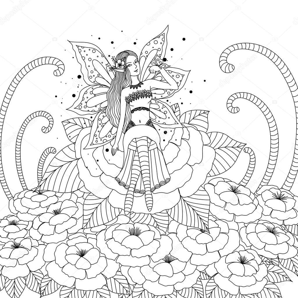 Image Result For Desenhos Para Adultos Colorir Duendes Livro De
