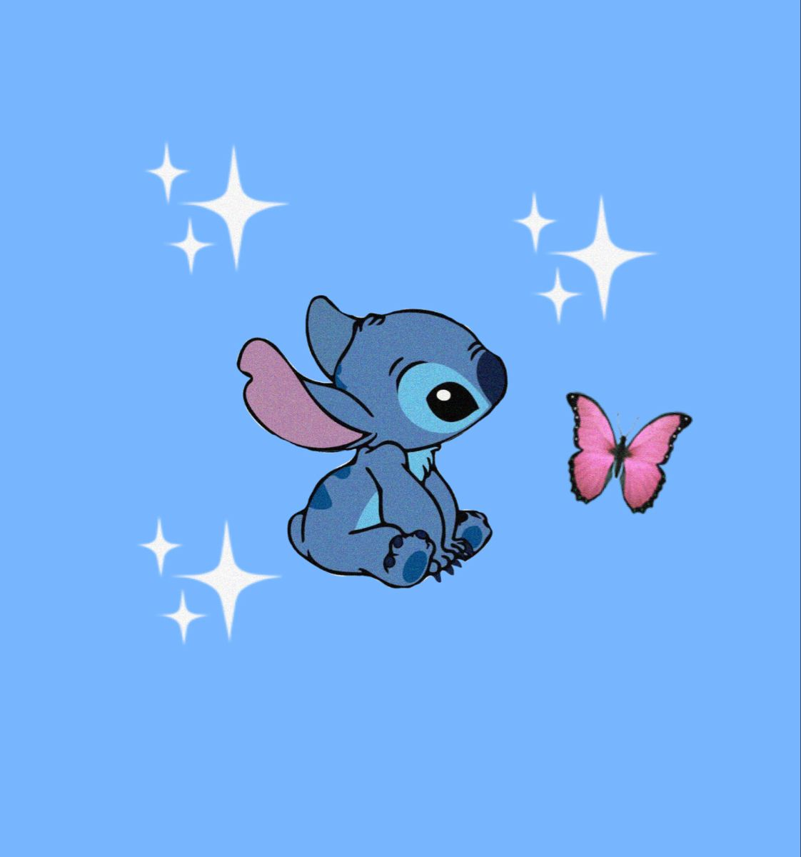 Aesthetic Profile Picture Aesthetic Wallpaper Cartoon Wallpaper Iphone Stitch Pictures Stitch Cartoon