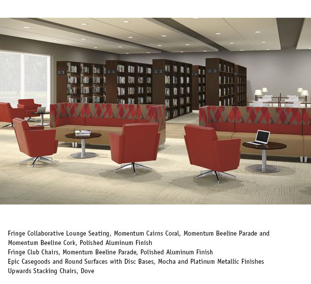 National Office Furniture - Fringe Lounge Seating in collaborative ...