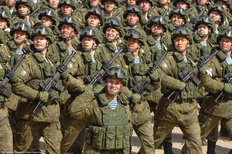 Russian Army Rehearsal 2 | Modern Russian Military ...