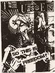 UNSEEN - Freedom - Patch