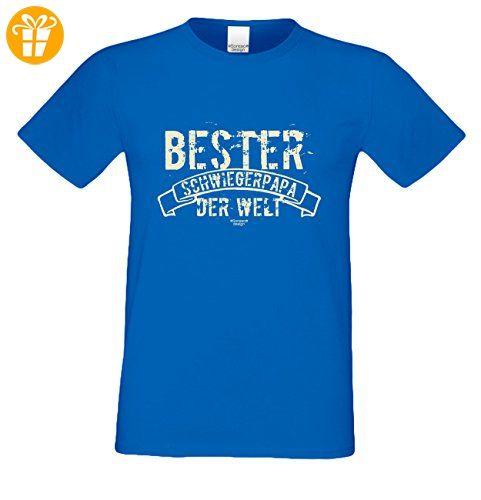 Geburtstagsgeschenk Schwieger-Papa-Vater :-: Herren T-Shirt als Geschenkidee  :