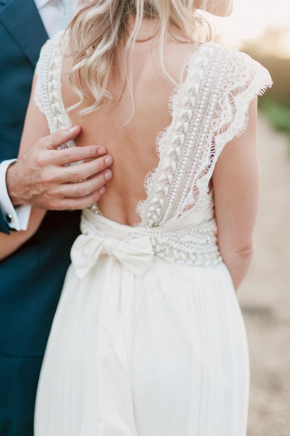 Anna Campbell Bride Elegant Wedding With Pastel Colour Scheme ...
