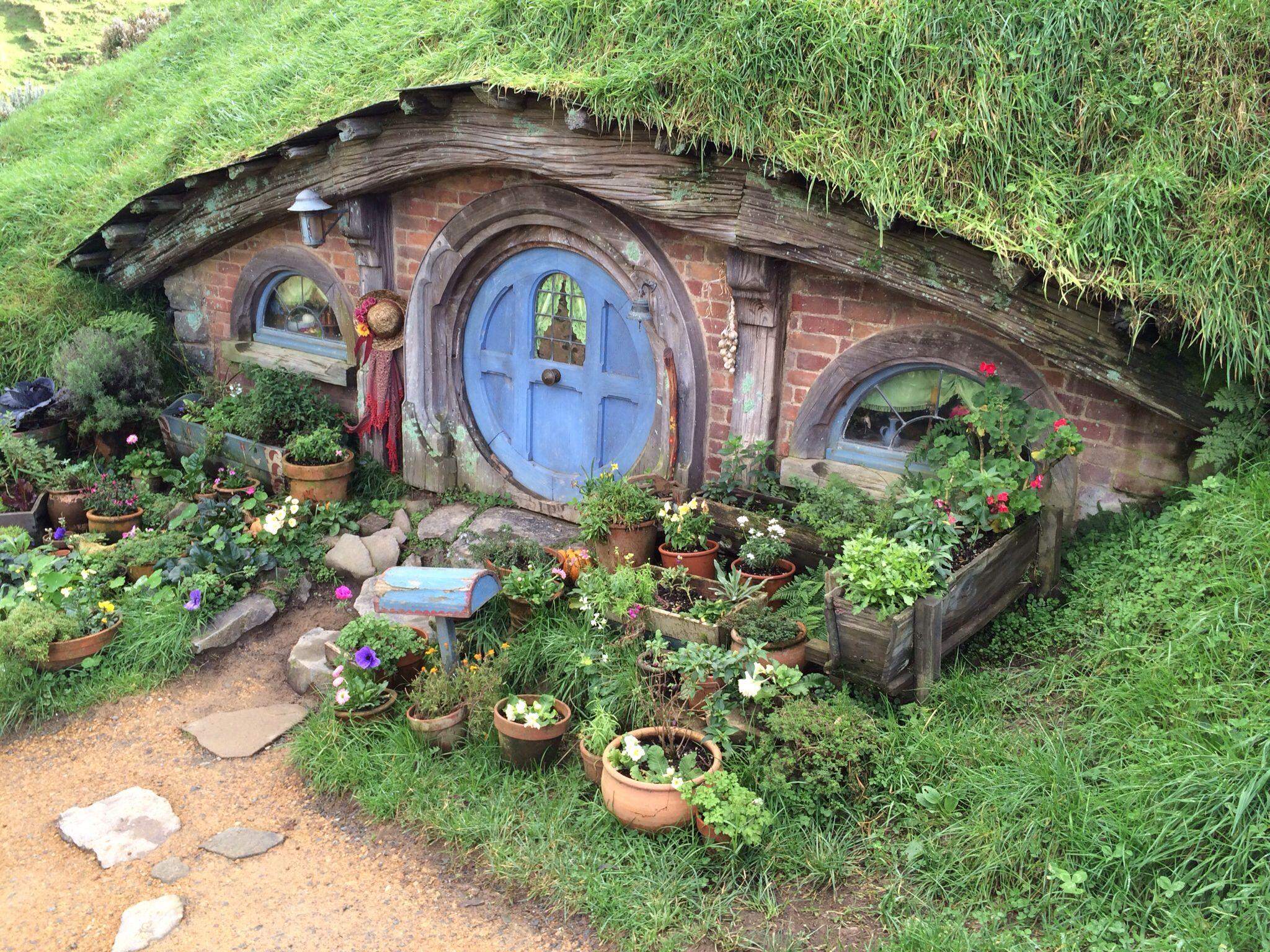 Hobbiton, Matamata Hobbit house, Fairy garden houses