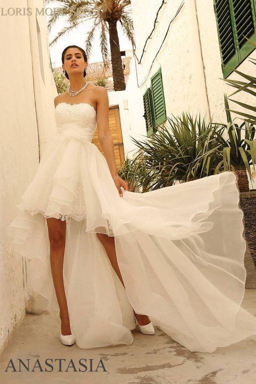 nuovo prodotto fc255 73898 Foto abiti da sposa per seconde nozze   Abito da sposa corto ...