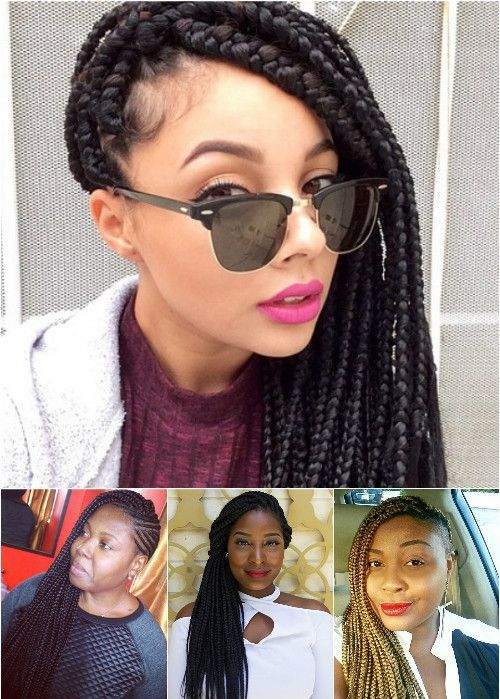 50 exquisite box braids hairstyles to do yourself side swept 50 exquisite box braids hairstyles to do yourself solutioingenieria