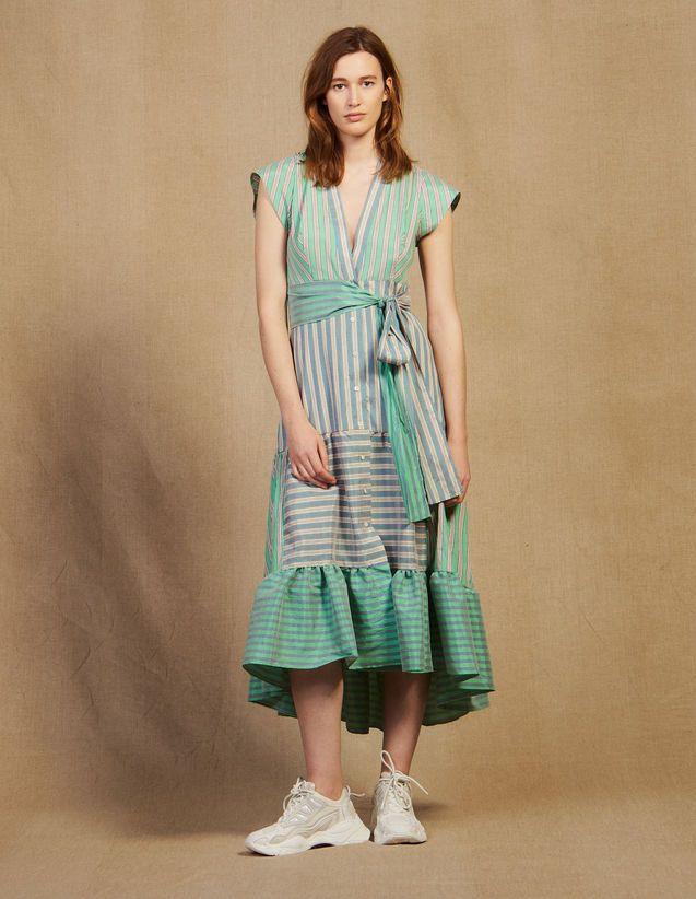 Robe Rengo Maje en bleu pour vêtements femme | Galeries