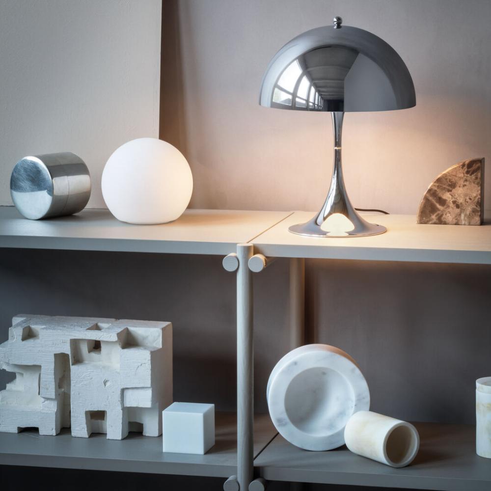 Panthella Mini Table Lamp In 2020 Mini Table Lamps Floor Lamp Design Table Lamp