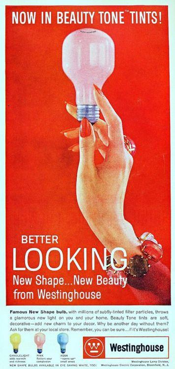Vintagemarlene 1960 Light Bulb Ad Vintage Ads Bulb Light