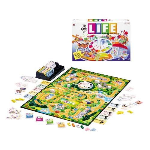 The Game Of Life Board Game Milton Bradley The Game Of Life Milton