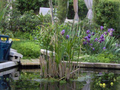 Un jardín con elementos reciclados | Cuidar de tus plantas es facilisimo.com