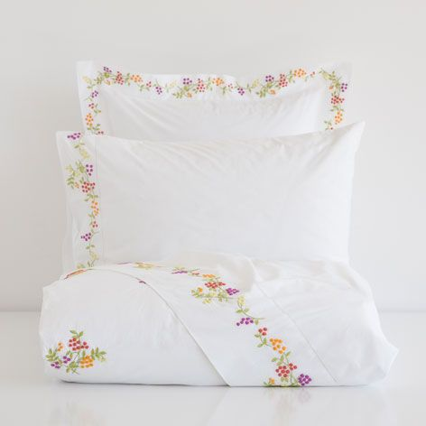 EMBROIDERED PERCALE BED LINEN - Last week - New Arrivals | Zara Home United States