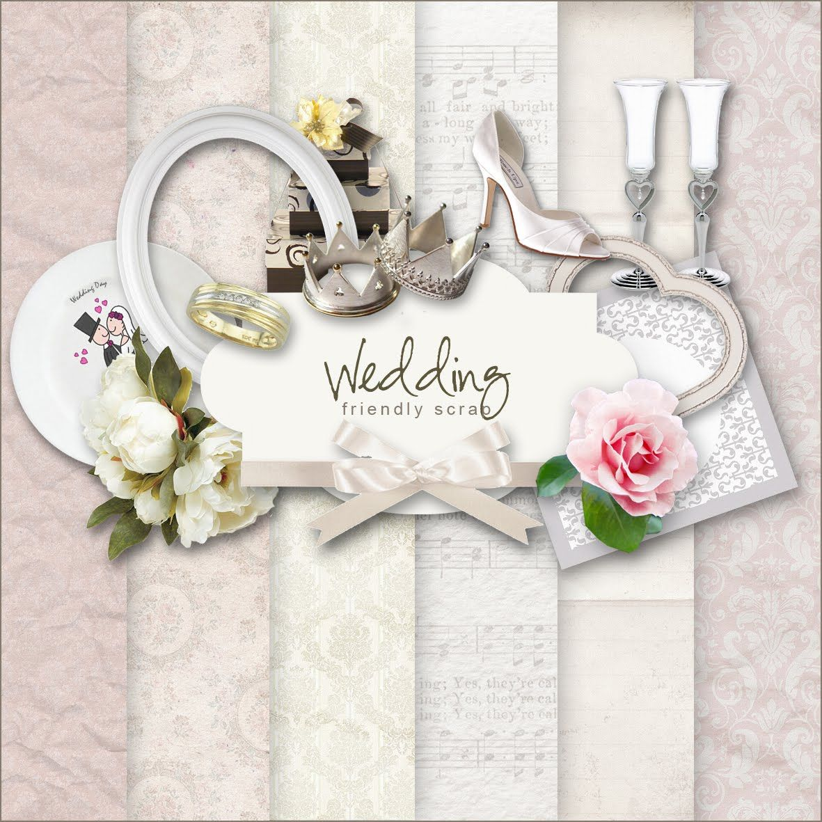 Free Wedding Scrap paper | Wedding freebies, Wedding ...