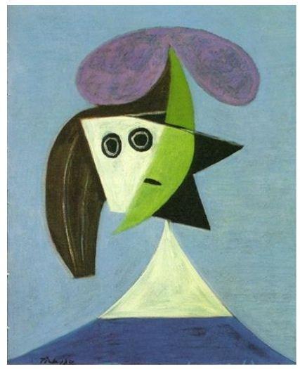 Mujer con sombrero -Olga- (Picasso 1935)