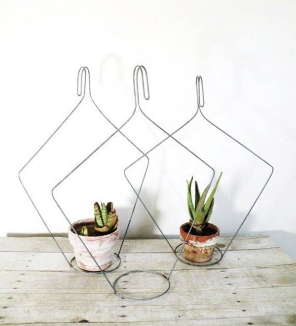 Creative old hanger recycling ideas   Recycling ideas, Hanger and ...