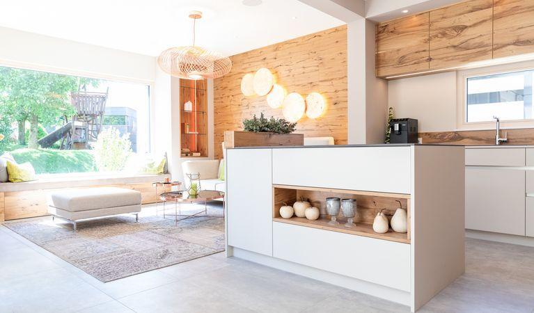 Hartl Haus Musterhaus Ambition 157 W Wohnbereich/Küche Musterhaus - ballerina küchen preise