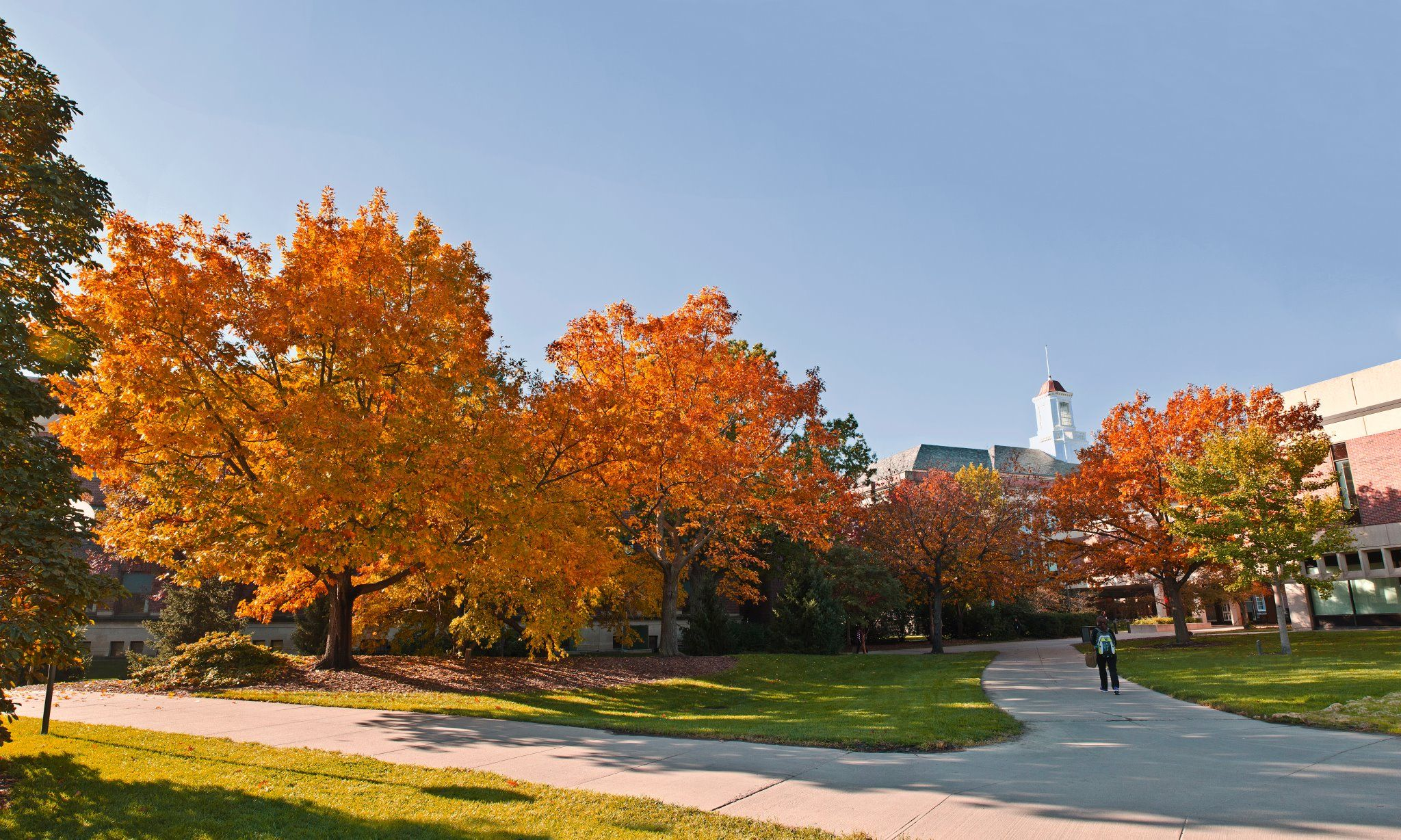 Beautiful Picture Of The University Of Nebraska Lincoln Campus In The Fall University Of Nebraska Lincoln Thunder Photography Nebraska