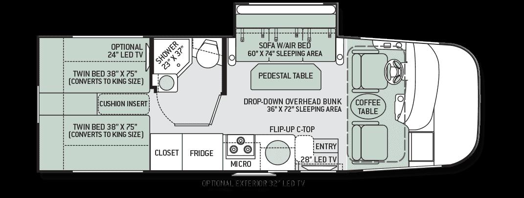 thor-axis-25 1-motorhome-floor-plan