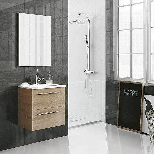 Conjunto mueble de baño fondo reducido 35 cm de Royo ...