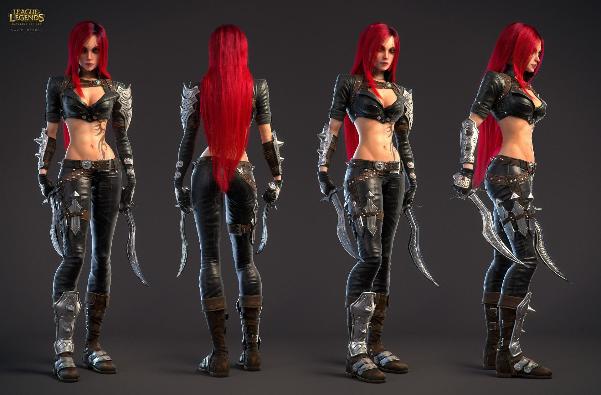 Katarina champion fan art