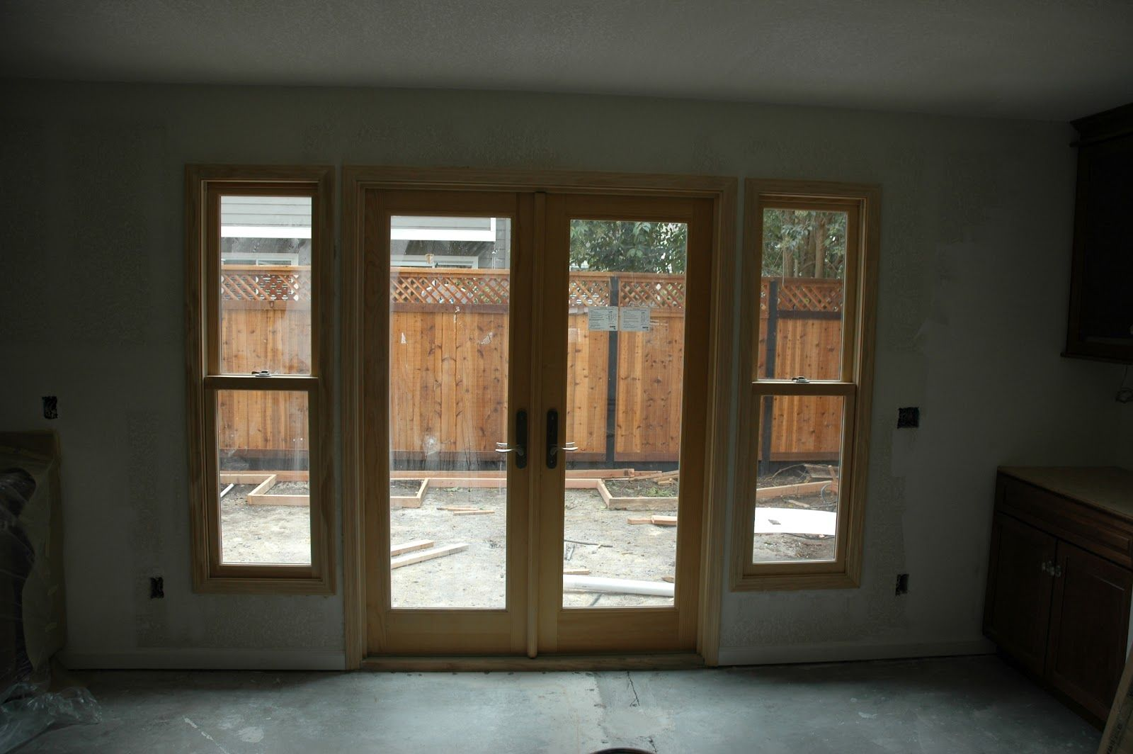 Image result for exterior double french doors with sidelights ...