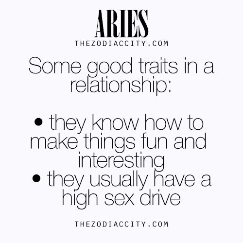 aries to relationship