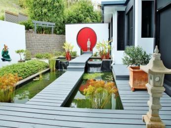 Photo of a modern garden design from a real Australian home - Gardens photo 8461681