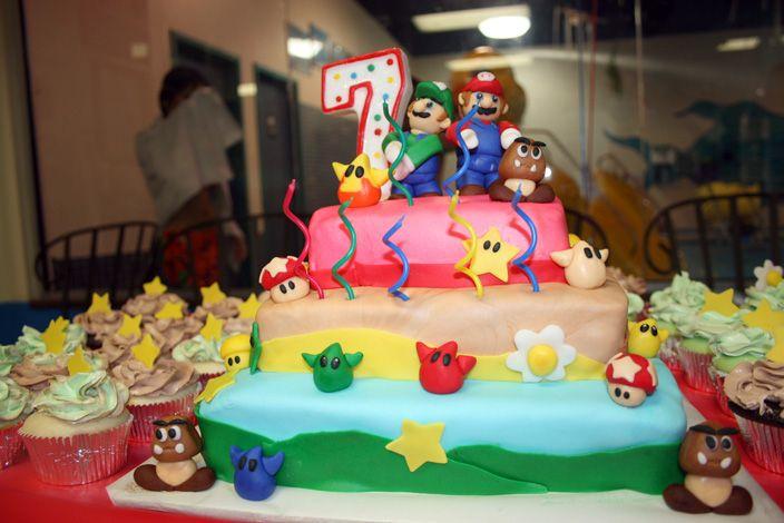 mario cake ideas easy Google Search Birthday cake ideas