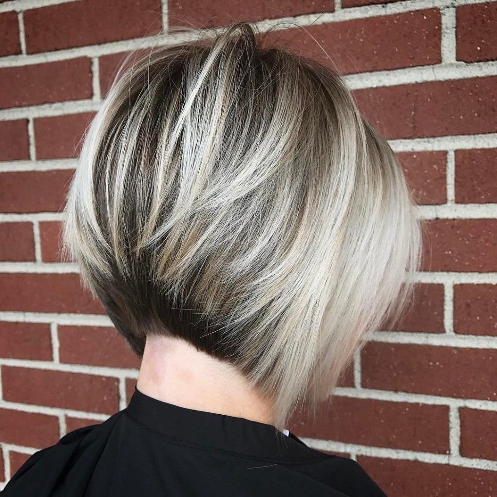 classy short haircuts and hairstyles for thick hair blonde bobs