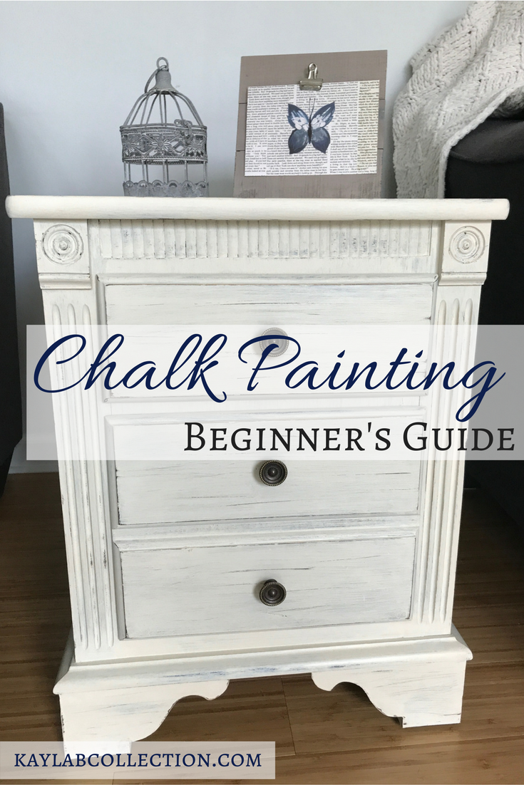 Easy Diy Chalk Paint Tutorial For Beginners Kayla B Collection Lifestyle Blog Chalk Paint Furniture Diy Chalk Paint Furniture Tutorial Painting Furniture Diy