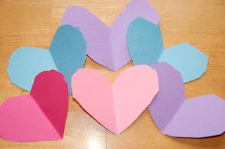 Cutting Hearts: Tracing and Scissor Practice (details in blog post)