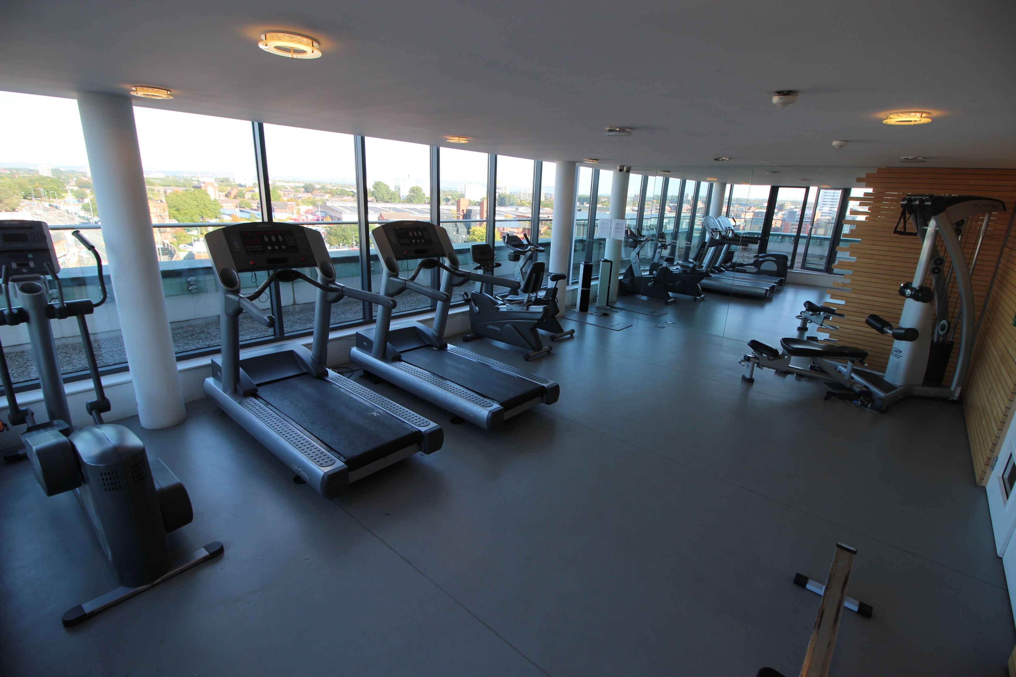 Gym At Skyline Central 1 Manchester City Centre Pent House Table
