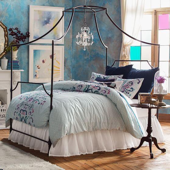 Maison Canopy Bed | PBteen & Maison Canopy Bed | PBteen | Casa de Sarah | Pinterest | Canopy ...
