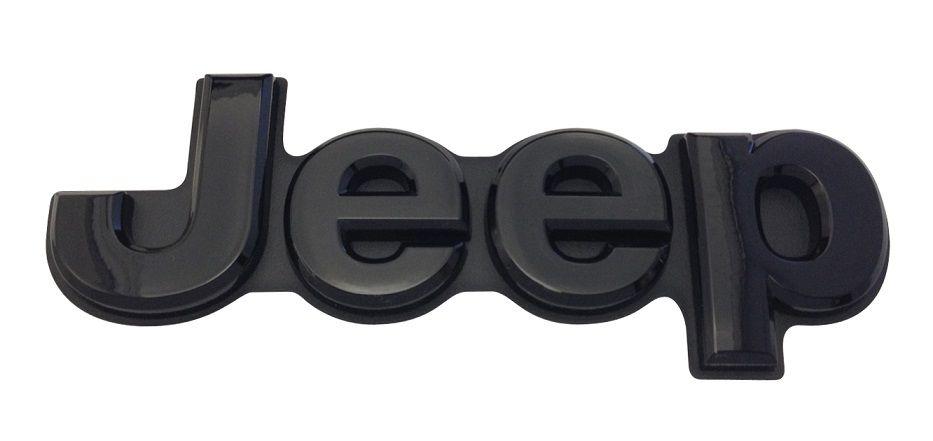 Mopar Gloss Black Jeep Liftgate Badge For 2014 2020 Grand Cherokee