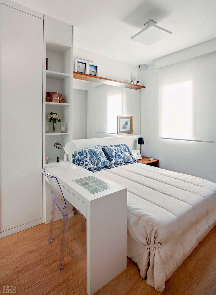 21 fotos de decoraci n de dormitorios peque os modernos - Decoracion de dormitorios pequenos ...