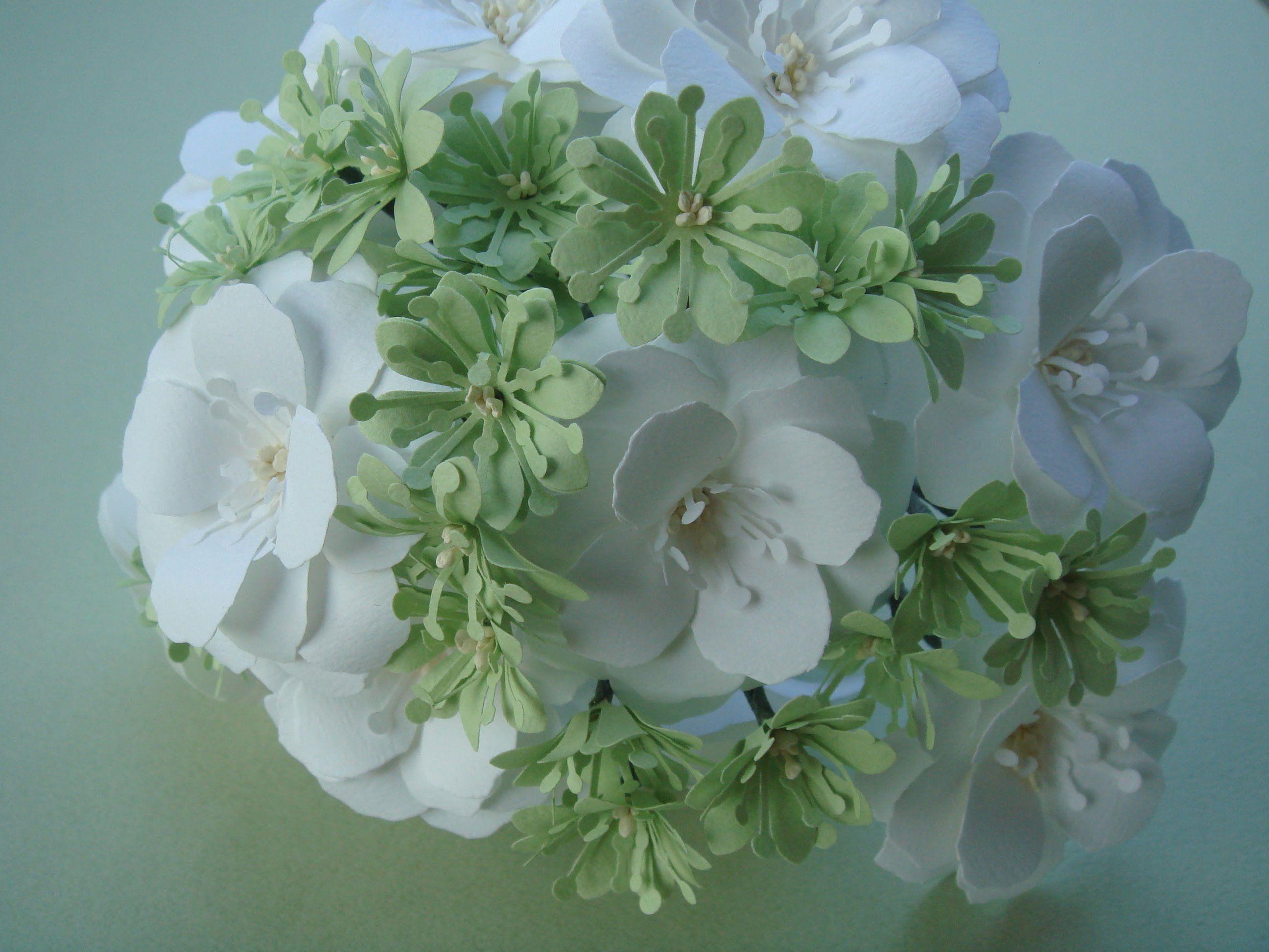 Paper flower bouquet 1 punch project pinterest paper flower bouquet 1 punch project izmirmasajfo