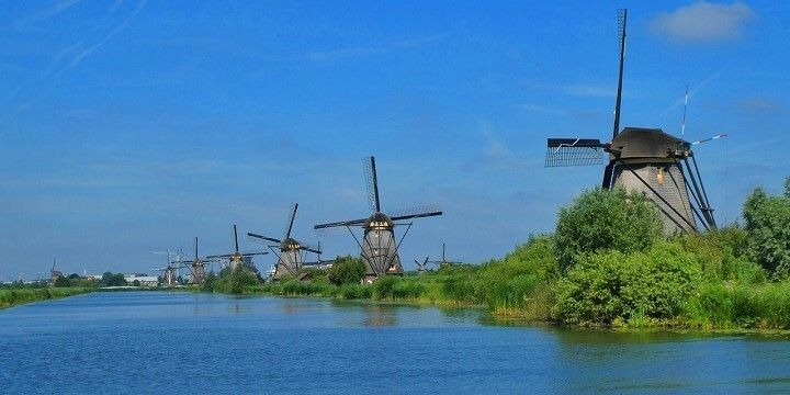 Kinderdijk, Holland, Netherlands