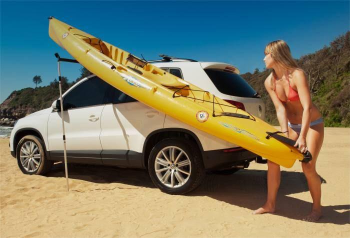 Rhino Universal Side Loader For Simple And Effective Kayak Car Topping Kayaking Kayak Camping Kayak Storage