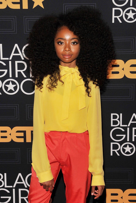15 Natural Hairstyles From Black Girls Rock | Skai jackson, Black ...