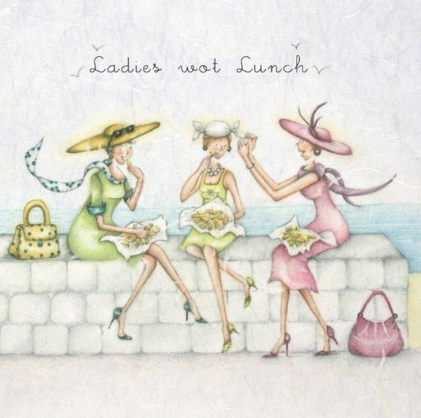 Cards » Ladies wot Lunch » Ladies wot Lunch - Berni Parker Designs