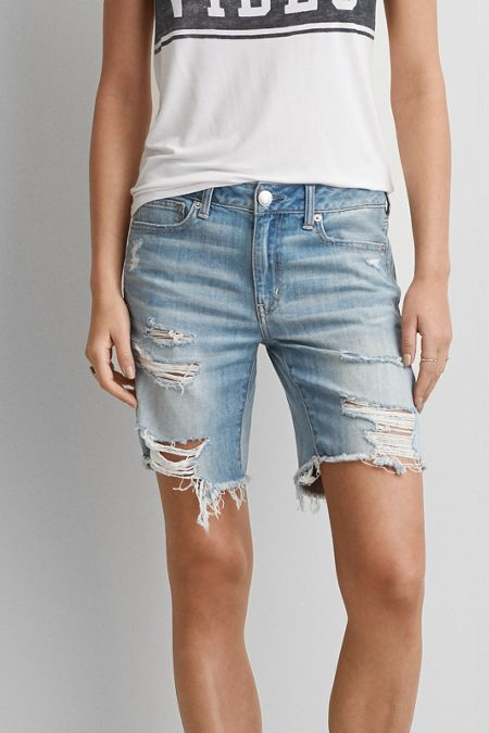 a1ec5ab883c14 American Eagle Outfitters AE Slouchy Bermuda Short | Shop Affordable ...