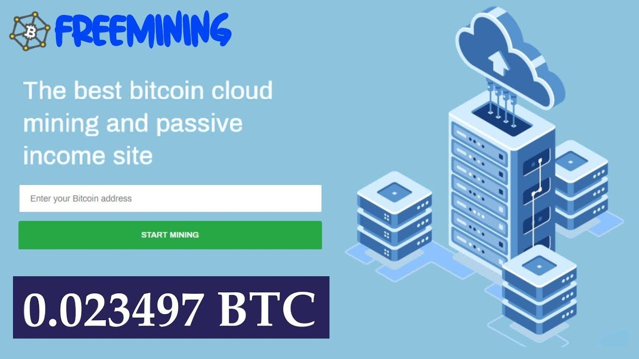 Freemining New Free Bitcoin Cloud Mining Site 2020 I Earn 0 002 Bitcoin Daily Without Investment Website Link Https Bit Ly Cloud Mining Bitcoin Investing