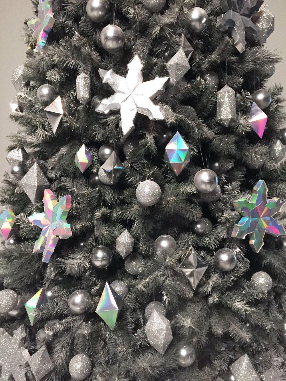 Holographic Christmas Tree.Holographic Christmas Tree Christmas Decor Themes