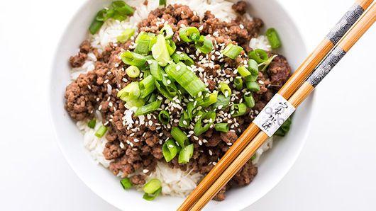 Simple Korean Ground Beef Bulgogi   Recipe   Dinner with ...