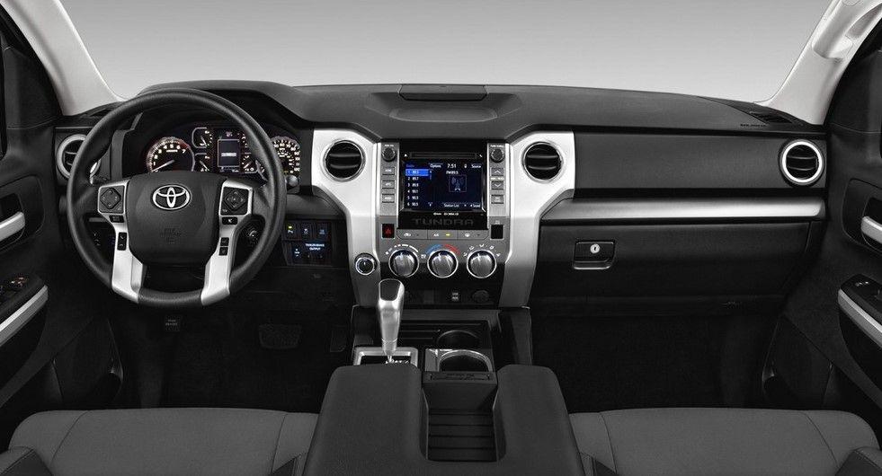 2020 Toyota Sequoia TRD Pro interior Toyota tundra