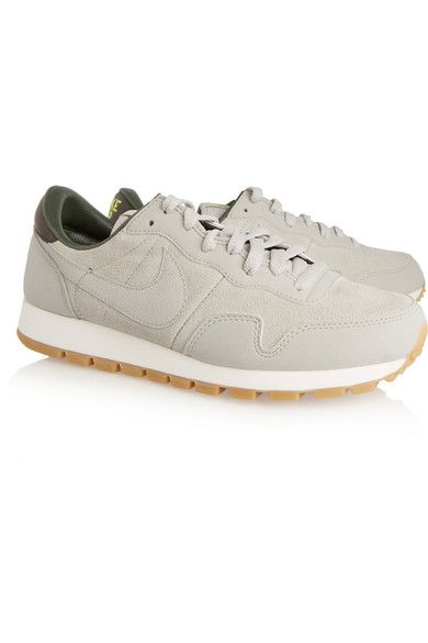 Nike | Air Pegasus '83 suede and textured-leather sneakers | NET-A-PORTER.COM 149 EUR