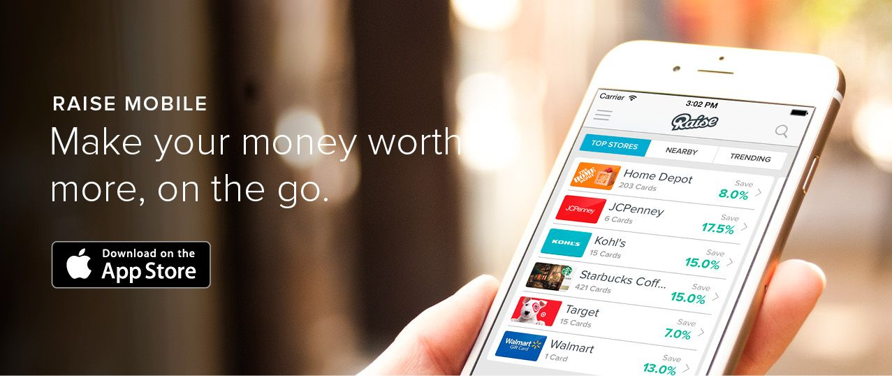 Introducing the Raise app for iPhone