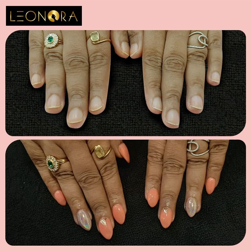 Short Nails Are Cute But Long Nail Are Beautiful To Book Appointments Call 9940116333 Chennai Alwarpet Nailart Nai Nail Extensions Short Nails Long Nails